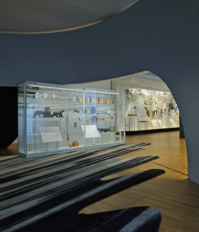 Europe Interiors & Contract Business Area Musée de l'Homme Project