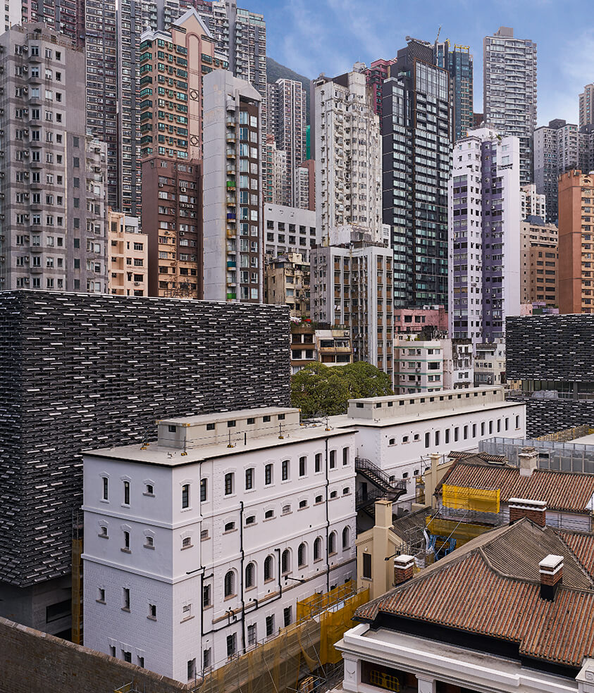 Tai Kwun, Centre for Heritage and Arts facade and curtain wall