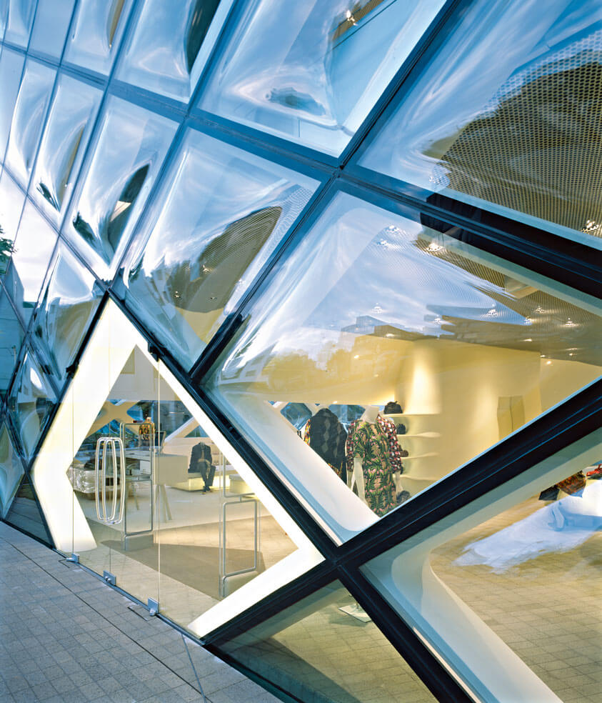 Asia Interiors Business Area Prada Aoyama Epicenter Project