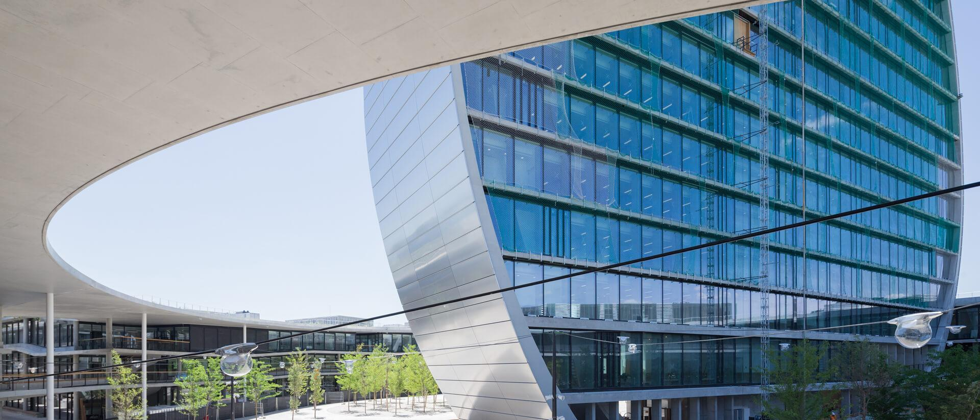 BBVA Headquarters Project Cover