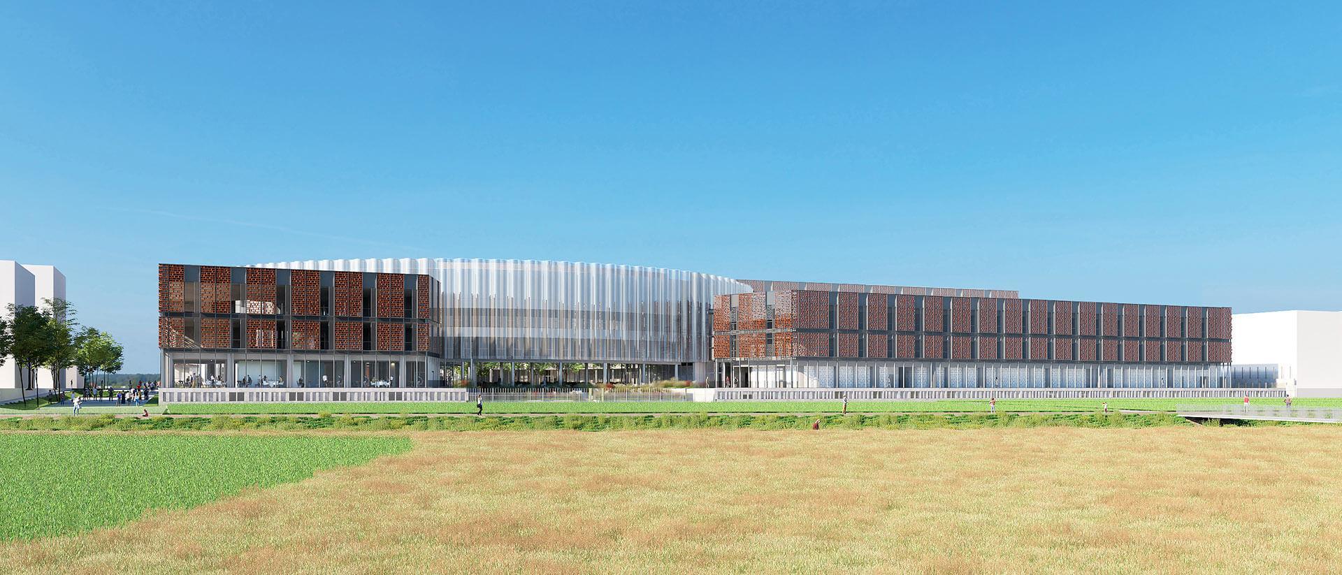 Centre de Recherche Servier Paris-Saclay project Cover