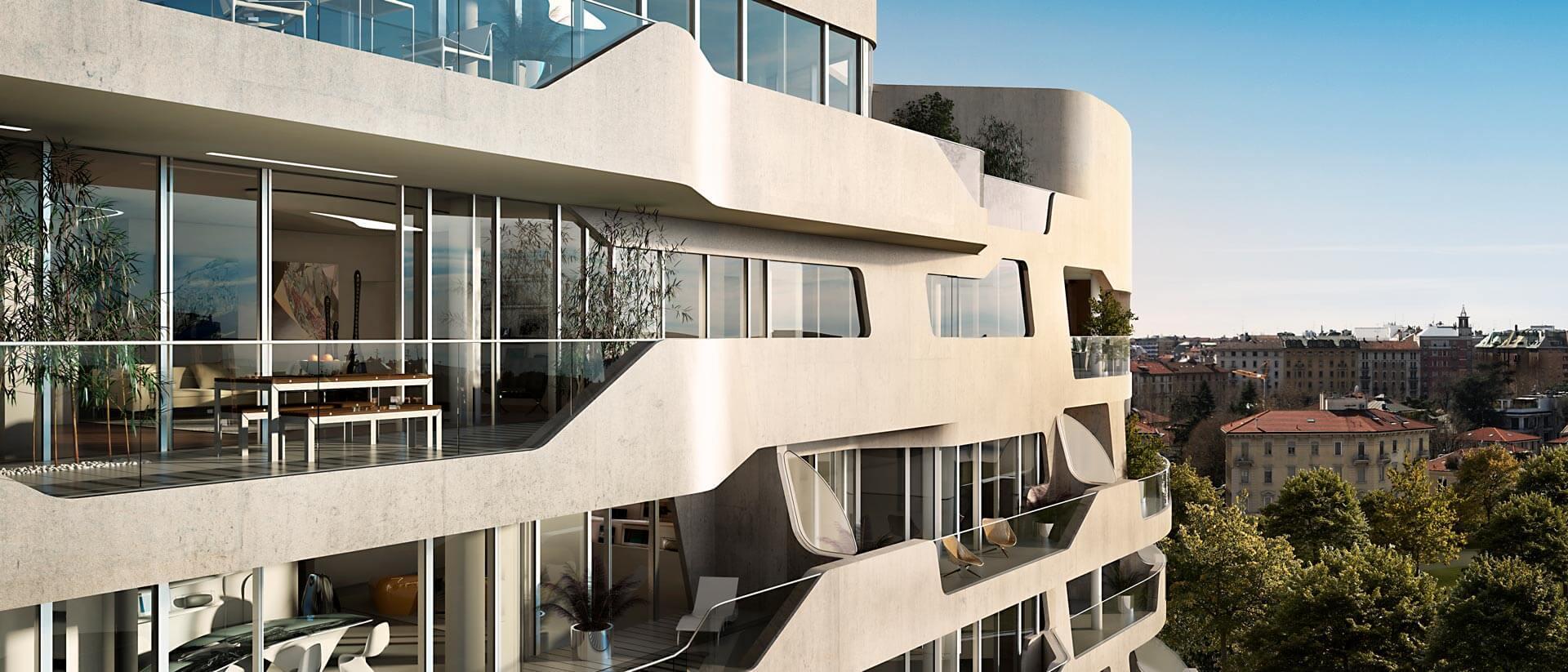 CityLife - Hadid Residences Project Canvas