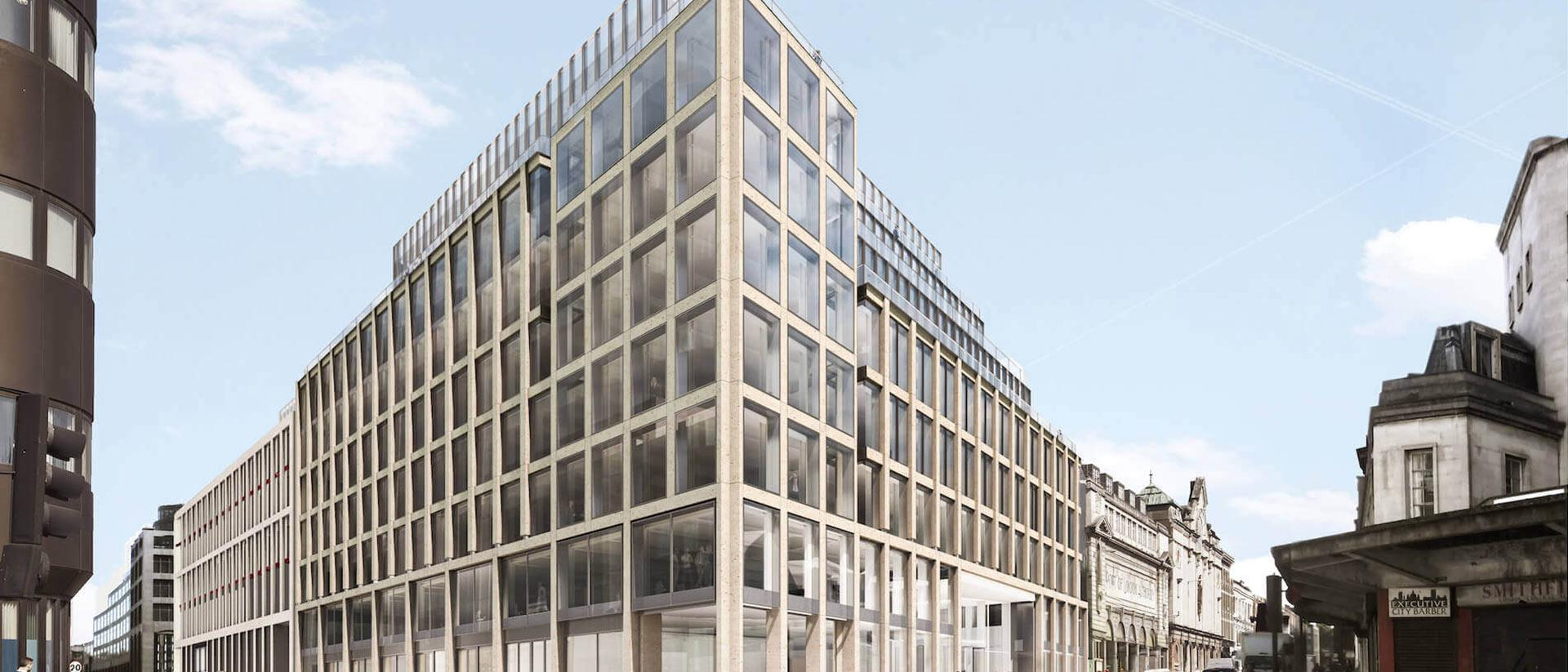 33 Charterhouse Street Project Cover